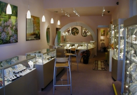 Sargent's Fine Jewelry Store interior photo